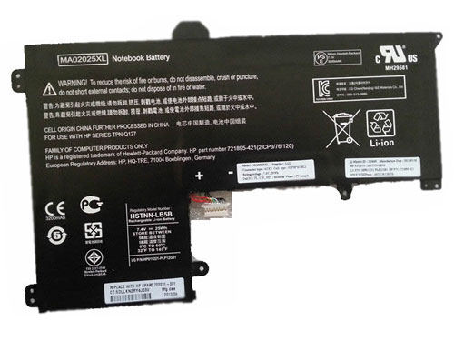 Compatible Batterie PC portable hp  for 721895-421
