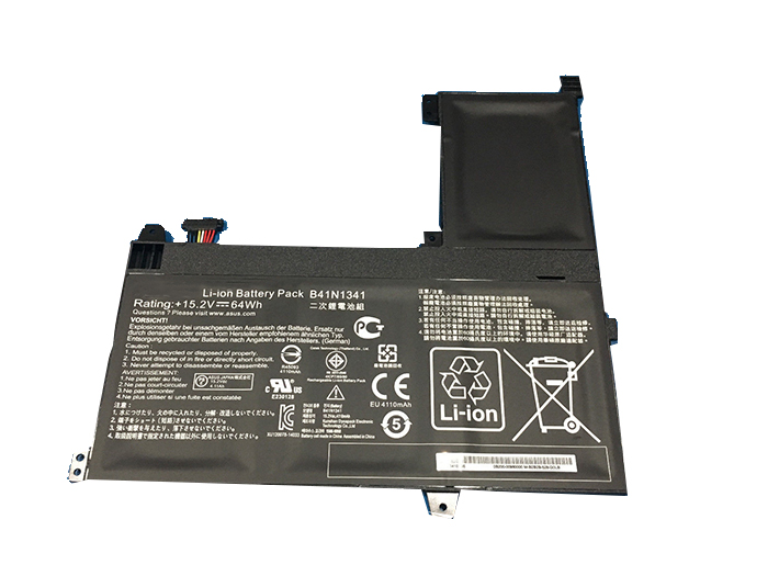 Compatible Batterie PC portable ASUS  for B41N1341