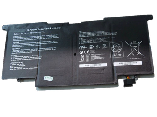 Compatible Batterie PC portable ASUS  for C22-UX31