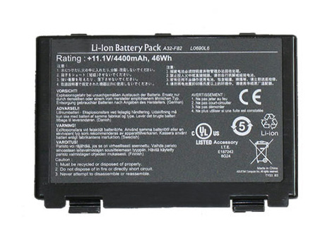 Compatible Batterie PC portable asus  for F83S