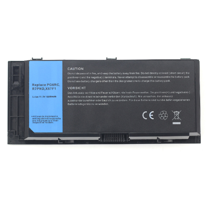 Compatible Batterie PC portable DELL  for X57F1