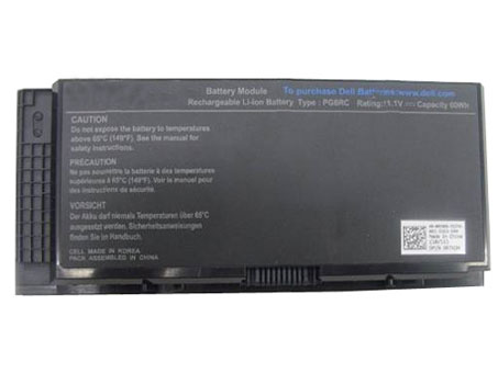 Compatible Batterie PC portable Dell  for PG6RC