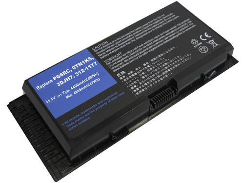 Compatible Batterie PC portable Dell  for 312-1177