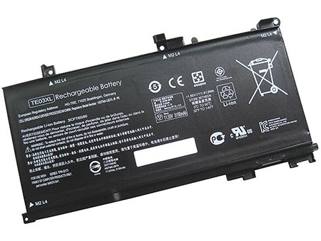Compatible Batterie PC portable HP  for Omen-15-AX011TX