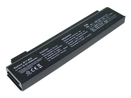 Remplacement Batterie PC PortablePour MSI BTY M52